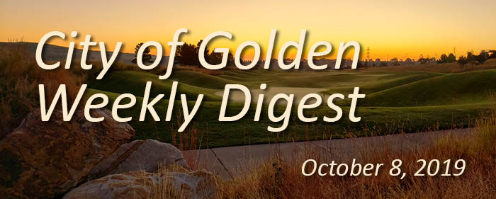 Weekly Digest banner with image of a lovely sunrise