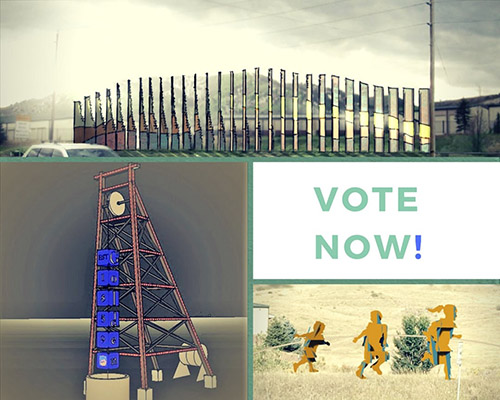 Vote for the next public art installation