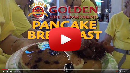 GFD Pancake Breakfast @ Golden Fire Station