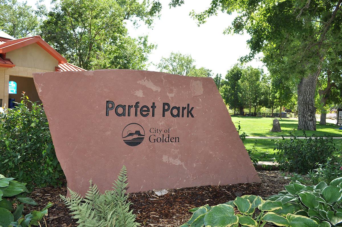 Parfet Park Sign