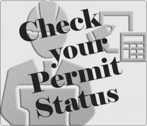 Check your Permit Status Button