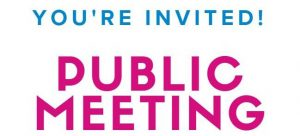 You're Invited - Public Meeting