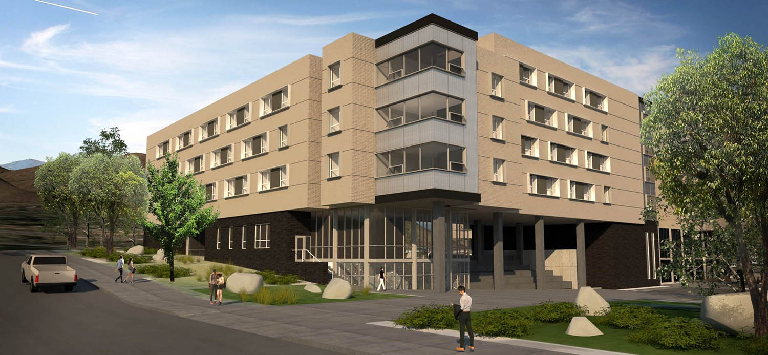 Rendering of CSM Residence Hall