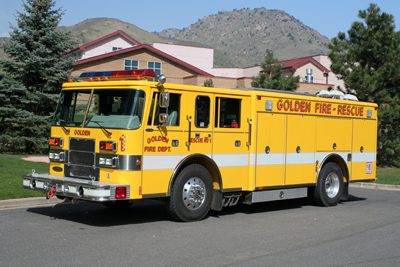 Golden Fire Department Rescue 1