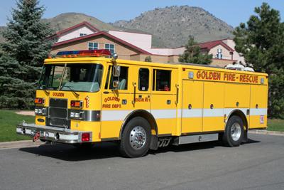 Golden Fire Department Rescue 1