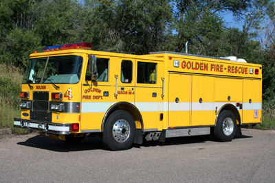 Golden Fire Department Rescue 4