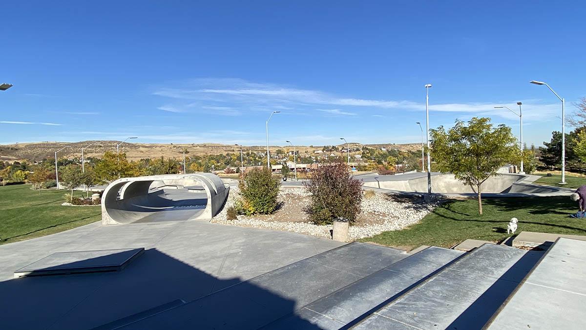 Ulysses Skate Park Panoramic