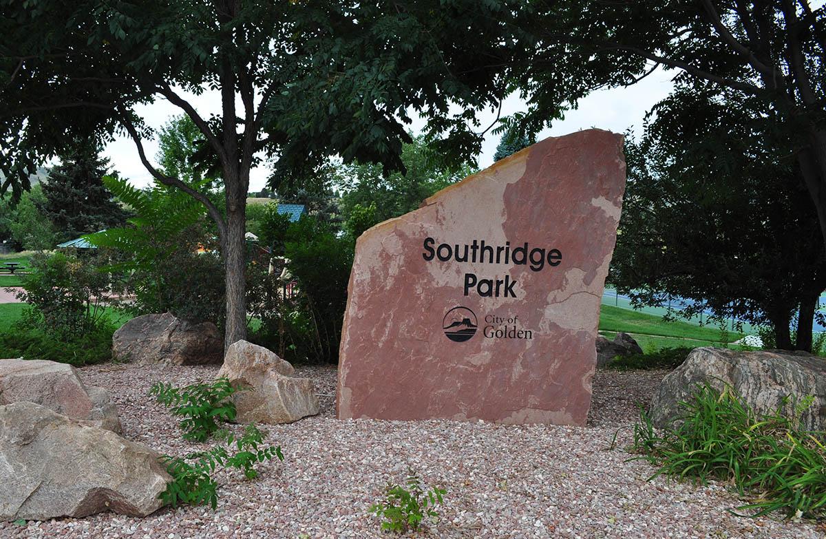 Southridge Park Sign