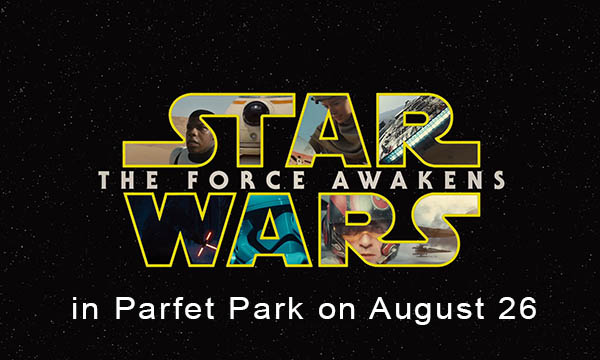 Star Wars the Force Awakens on August 26