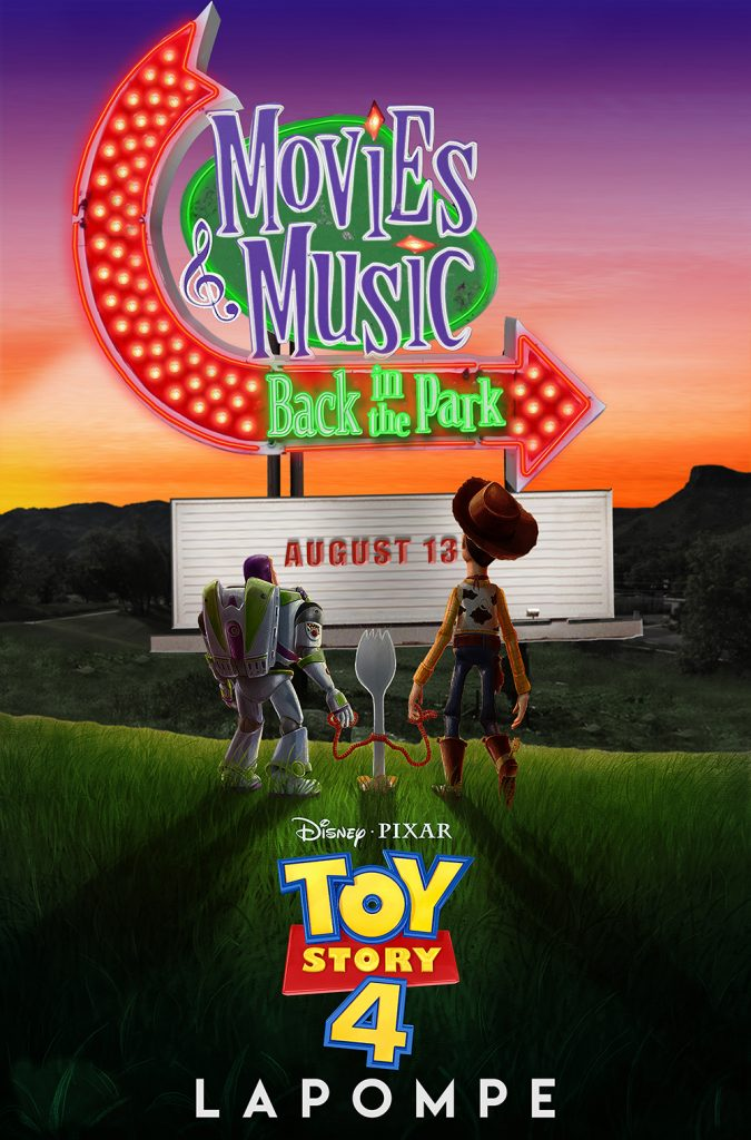 Toy Story 4 with La Pompe