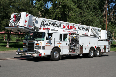 Golden Fire Department Tower 1