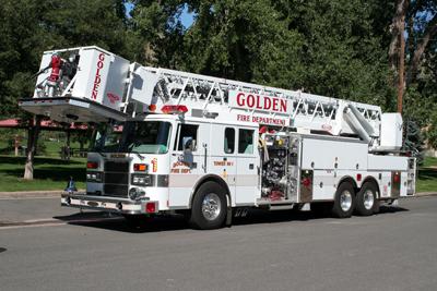 Golden Fire Department Tower 1