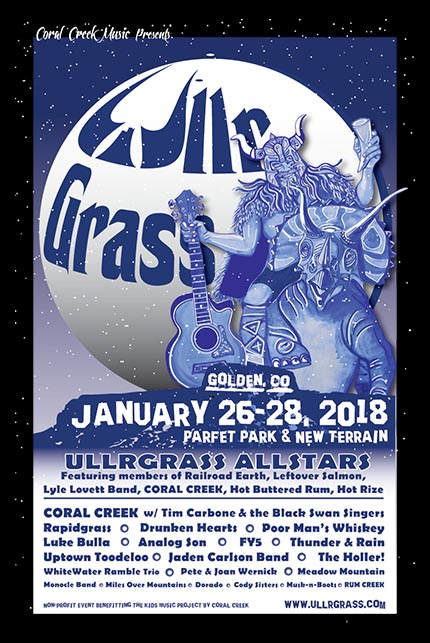 4th Annual UllrGrass Music & Beer Festival @ Parfet Park | Golden | Colorado | United States
