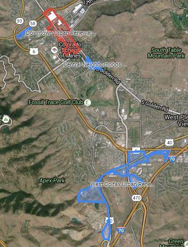 Urban Renewal Map