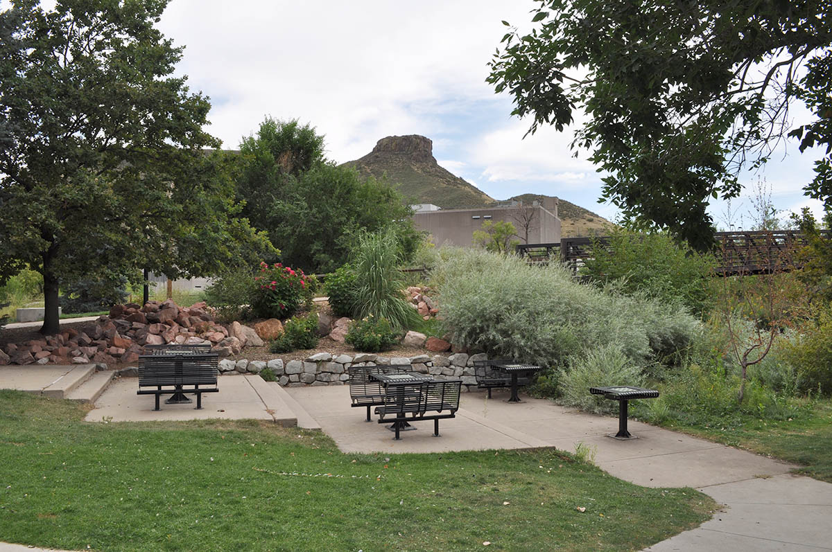 Vanover Park Chess Boards and Castle Rock