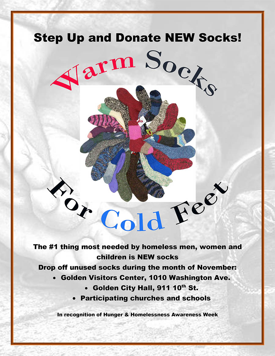 Warm Socks for Cold Feet