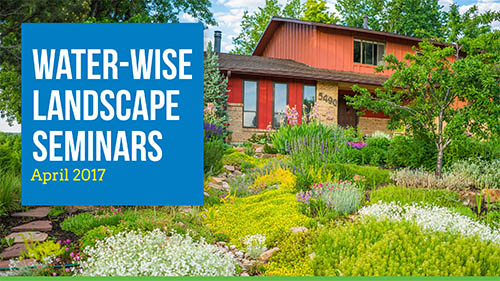 Xeriscaping Water-Wise Landscape Seminar @ Golden Community Center | Golden | Colorado | United States