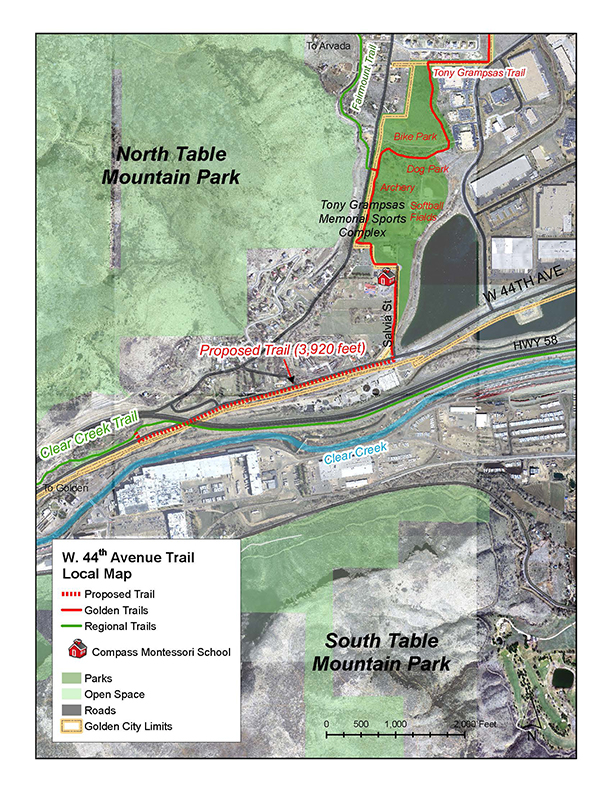 West 44th Proposed Trail