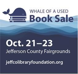 2016 Fall Jefferson County Library Whale of a Sale @ Jefferson County Fairgrounds
