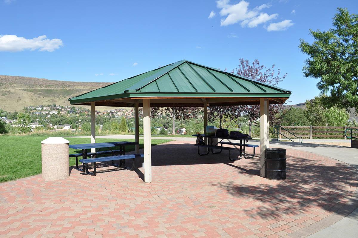 White Ash Mine Park Pavilion