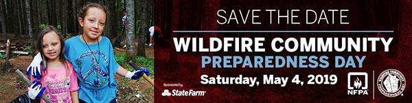 Wildfire Community Preparedness Day 2019