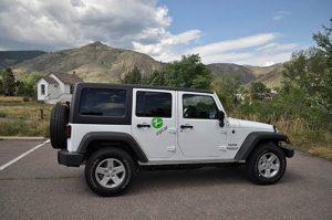 Zipcar Jeep