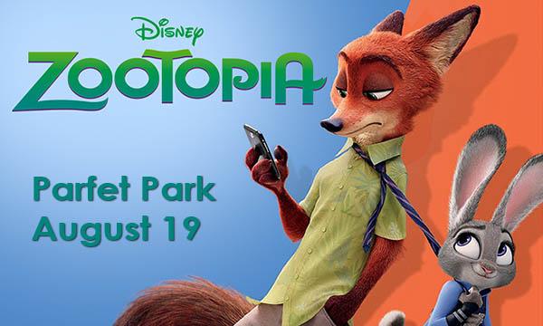 Zootopia on August 19