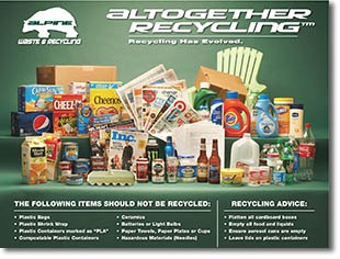 Altogether Recycling Flyer