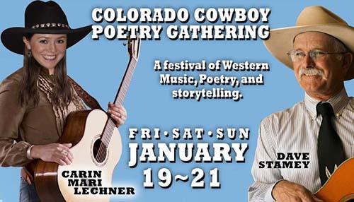 Colorado Cowboy Poetry Gathering @ American Mountaineering Center | Golden | Colorado | United States
