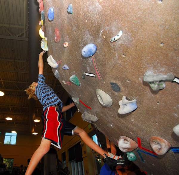Golden Community Center Climbing Wall