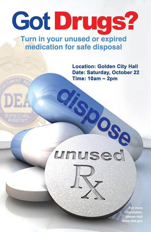 Drug Take Back Day - Oct 22