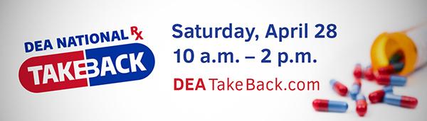 National Prescription Drug Take-back Day 2018