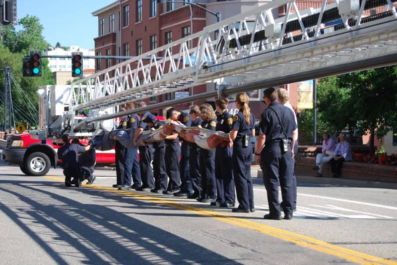 911 Memorial Flag Ceremony
