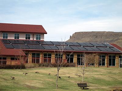 Solar Panels on the Golden Community Center
