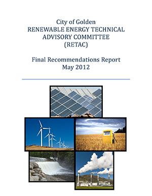 Energy RETAC Report Cover