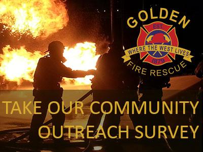 Golden Fire community outreach survey
