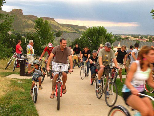 Golden Bicycle Cruise 2019 @ Golden Library | Golden | Colorado | United States