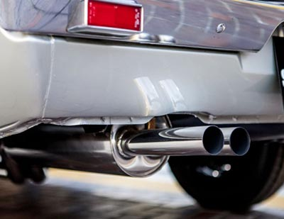 illegal exhaust system