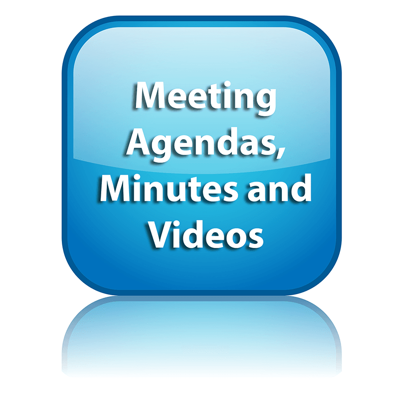Meeting agendas, minutes and videos