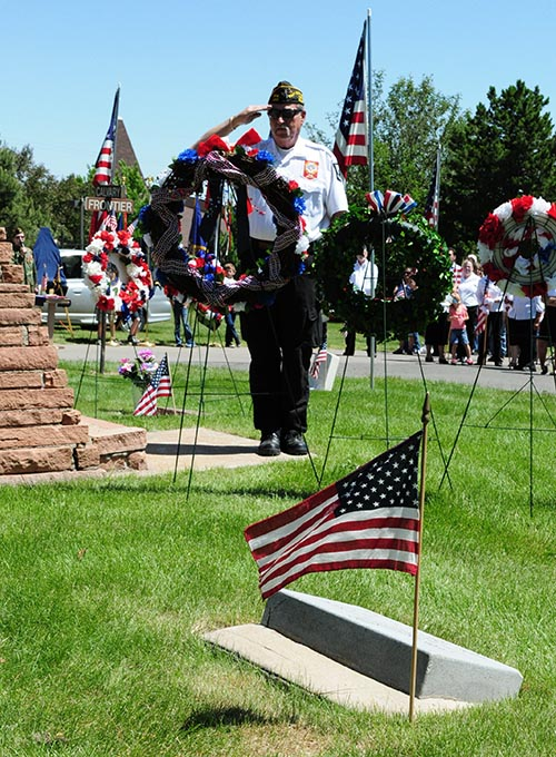 Memorial Day Ceremony at the Golden Cemetery @ Golden Cemetery