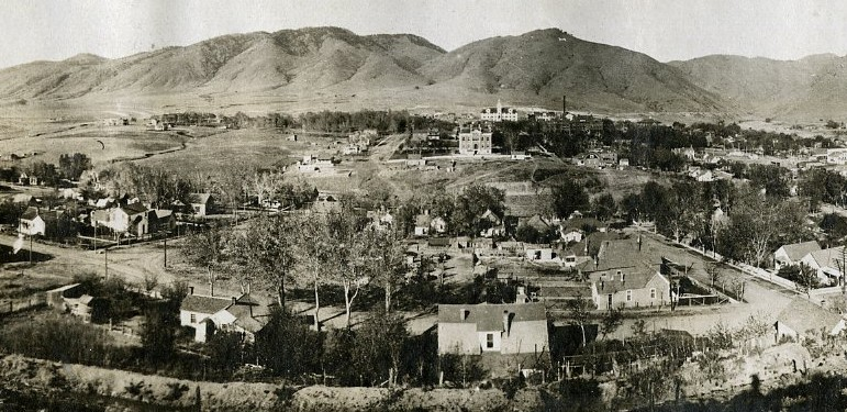 History Of Golden City Of Golden Colorado