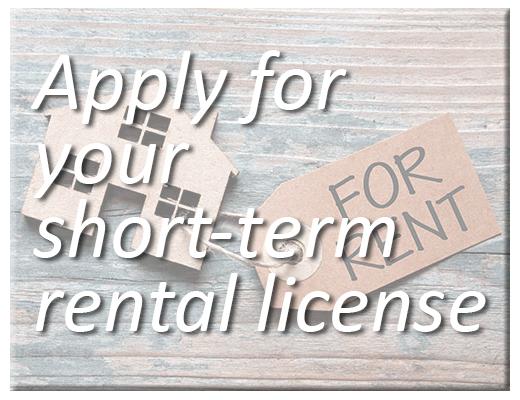 Short Term Rental Licenses