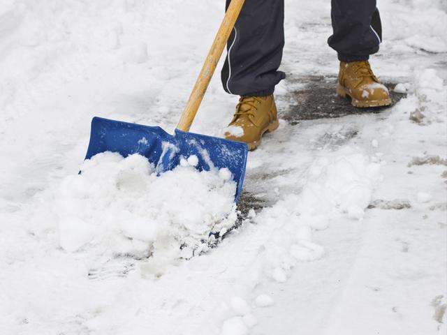 shovel your sidewalks