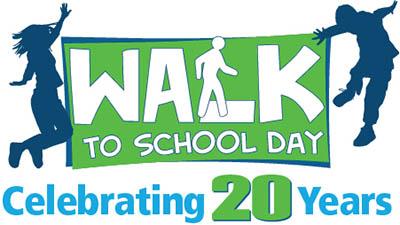 Walk to School Day - Oct. 5