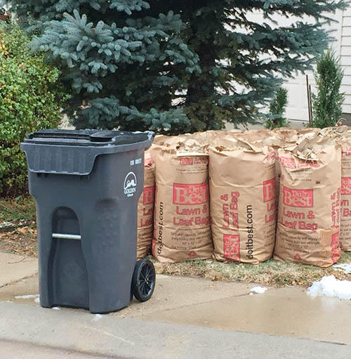 Spring Yard Waste Collection Week 2019